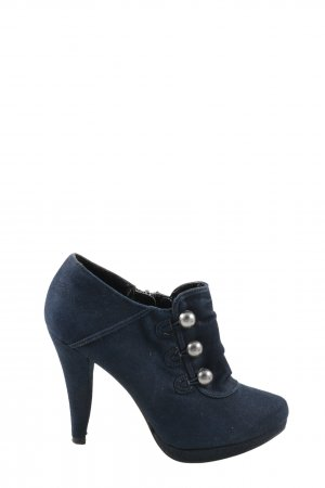 Graceland Reißverschluss-Stiefeletten blau Casual-Look