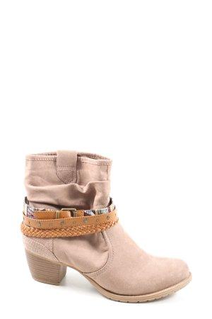 Graceland Reißverschluss-Stiefeletten creme Casual-Look