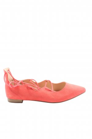 Graceland Strappy Ballerinas red casual look