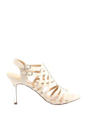 Graceland Sandały z rzemykami kremowy W stylu casual