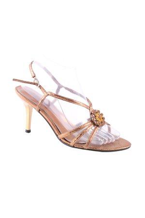 Graceland Riemchen-Sandalen bronzefarben Casual-Look