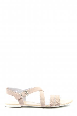 Graceland Riemchen-Sandalen creme Casual-Look