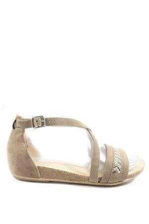 Graceland Riemchen-Sandalen wollweiß Casual-Look