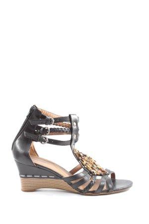 Graceland Sandalo con cinturino nero stile casual