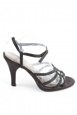 Graceland Riemchen-Sandaletten schwarz Elegant