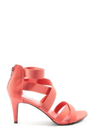 Graceland Riemchen-Sandaletten pink Casual-Look