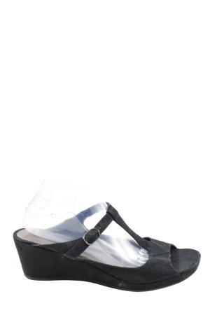 Graceland Riemchen-Sandaletten schwarz Casual-Look