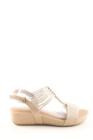 Graceland Riemchen-Sandaletten wollweiß Casual-Look