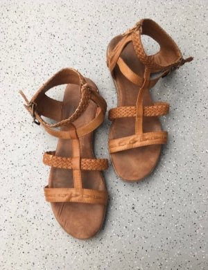 Graceland Sandały rzymskie brązowy