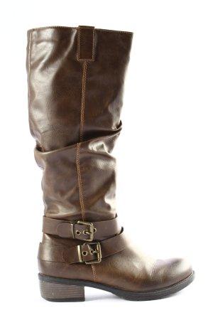 Graceland Jackboots brown casual look