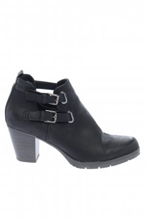 Graceland Schlüpf-Stiefeletten schwarz Casual-Look