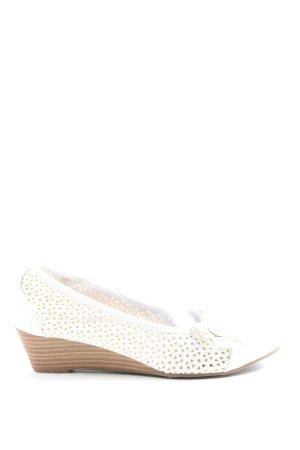 Graceland Wedges Sandaletten weiß Casual-Look