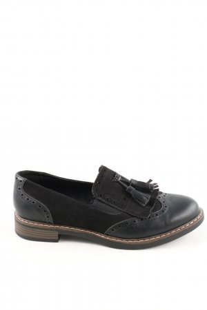 Graceland Slip-on Shoes black casual look