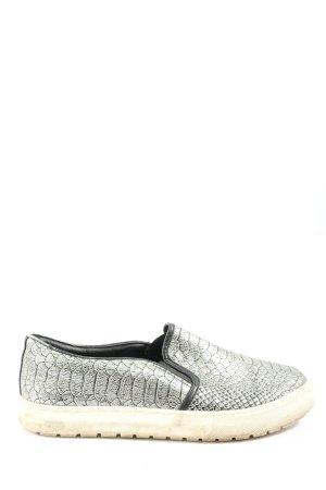 Graceland Schlüpfsneaker silberfarben Casual-Look
