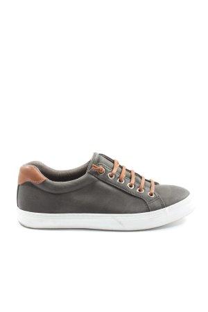 Graceland Schlüpfsneaker hellgrau-braun Casual-Look