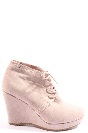 Graceland Schnür-Stiefeletten pink Casual-Look