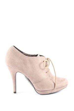 Graceland Schnür-Stiefeletten creme Business-Look