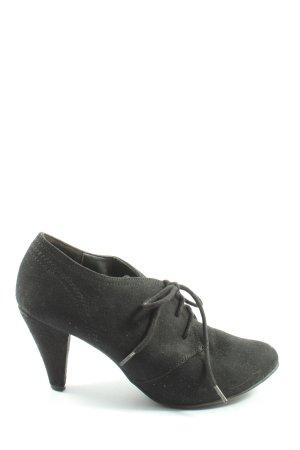 Graceland Schnürschuhe schwarz Casual-Look