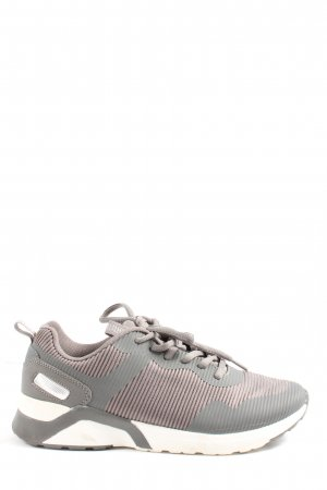 Graceland Schnürsneaker silberfarben-weiß Casual-Look