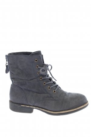 Graceland Lace-up Boots blue-dark grey