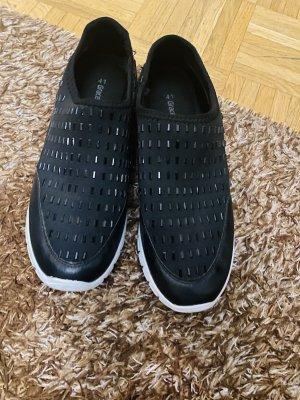 Graceland Slip-on noir-blanc