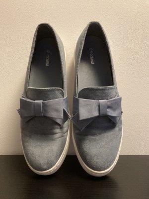 Graceland Schuhe hellblau mit Schleife)