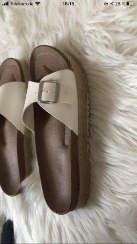 Graceland Heel Pantolettes white