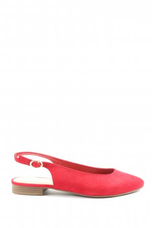 Graceland Slingback Ballerinas red casual look