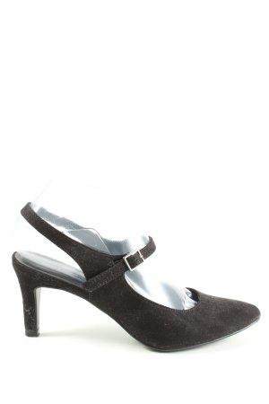 Graceland Slingback pumps zwart zakelijke stijl