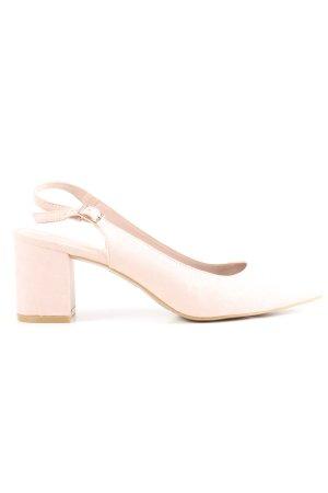 Graceland Slingback-Pumps pink-wollweiß Elegant