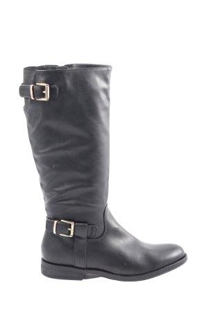 Graceland Slouch Stiefel schwarz Casual-Look