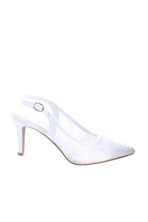 Graceland Spitz-Pumps weiß Elegant