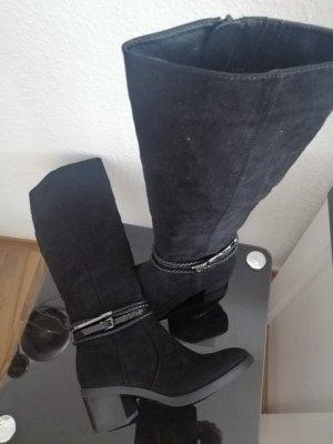 Graceland Heel Boots black