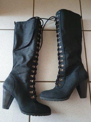 Graceland Aanrijg laarzen zwart