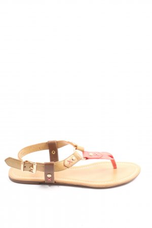 Graceland Beach Sandals pink-nude casual look