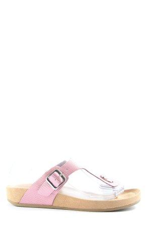 Graceland Strandsandalen roze casual uitstraling