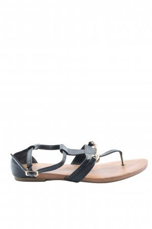 Graceland Beach Sandals black casual look