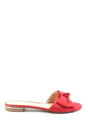 Graceland Sandały plażowe czerwony W stylu casual
