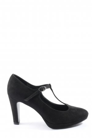 Graceland T-Steg-Pumps schwarz Business-Look