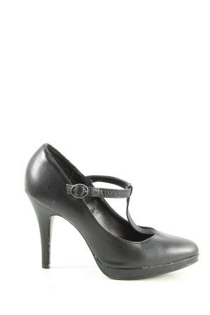 Graceland T-hakpumps zwart zakelijke stijl
