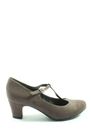 Graceland Escarpin Salomé gris clair style décontracté