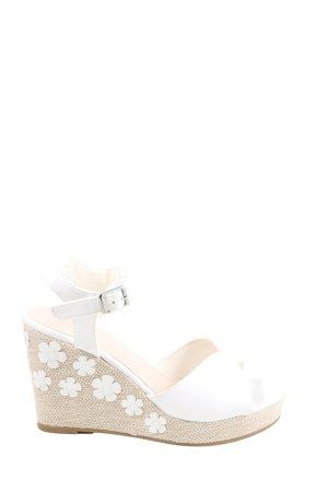 Graceland Wedges Sandaletten wollweiß Casual-Look