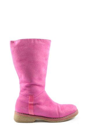 Graceland Weitschaftstiefel pink Casual-Look