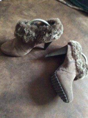 Graceland Bottine d'hiver gris brun