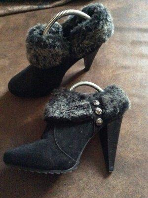 Graceland Bottine d'hiver noir