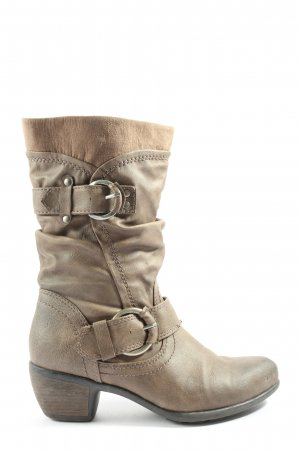 Graceland Winter Boots brown casual look