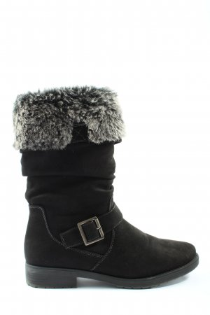 Graceland Winter Boots black casual look