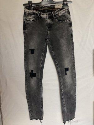 Gracia Jeans skinny gris