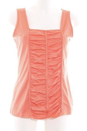 Gracia Débardeur orange clair style décontracté