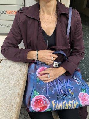 Graffiti-Tasche aus Leder